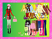 Click to Play Colorful Fashion Dressup