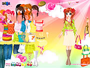 Click to Play Colorful Dressup