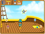 Click to Play Dora's Pirate Boat Treasure Hunt