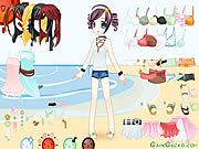 Click to Play Beach Doll Dressup