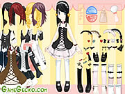 Click to Play Gothic Lolita Dressup