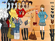 Click to Play Rock Stripes Dressup