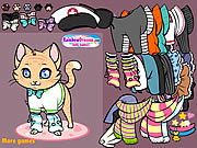 Click to Play Meow Meow Dressup