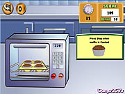 Click to Play Cooking Show: Muffins