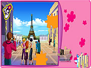 Click to Play Totally Spies Puzzle - Eiffel Tower