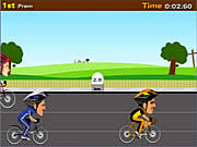 Click to Play Cycle Racer