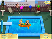 Click to Play The Pool Invasion