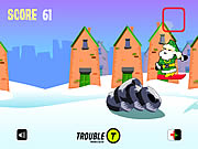 Click to Play Santa Urban Snowboarding