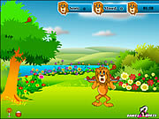 Click to Play Lion Hunger