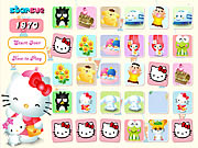 Click to Play Hello Kitty Memory Game