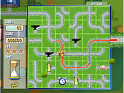 Click to Play Tom And Jerry In Cheese Chasing Maze