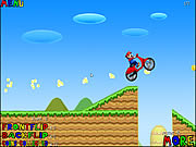 Click to Play Mario Bros Motobike