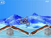 Click to Play Bike Mania On Ice