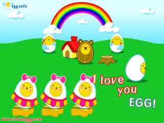 Click to Play I Love Egg!