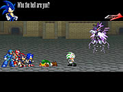 Click to Play Final Fantasy Sonic X3