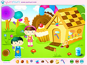 Click to Play Hansel and Grethel Decoration