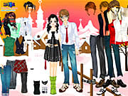 Click to Play Dress Up Sweet Couple