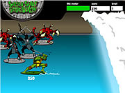 Click to Play Teenage Mutant Ninja Turtles - Sewer Surf Showdown