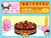 Click to Play Fruit Cake Decoration