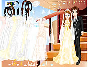 Click to Play Wedding Couple Dressup