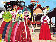 Click to Play Asian Dress Up