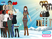 Click to Play Sun Snow Dressup