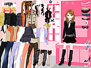Click to Play Chique Fashion Dressup2
