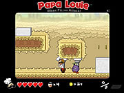 Click to Play Papa Louie: When Pizzas Attack