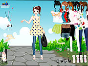 Click to Play Dots Dress Up