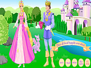 Click to Play Barbie as Rapunzel