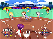 Click to Play Cartoons Baseball