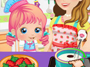 Click to Play Cooking with Mommy