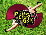 Click to Play Flicking Crazy Golf