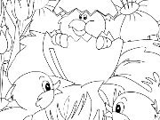 Click to Play Kid's coloring: A little surprise for You