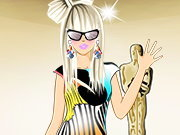 Click to Play Lady Gaga Glam Fashion Dress Up