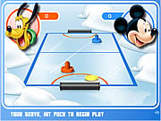 Click to Play Mickey And Friends Shoot & Score