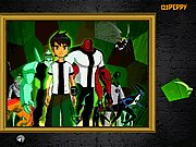 Click to Play Puzzle Mania Ben 10