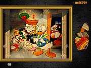 Click to Play Puzzle Mania Donald Duck