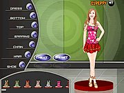 Click to Play Shoshana Bush Dress Up