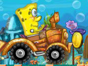 Click to Play SpongeBob Tractor